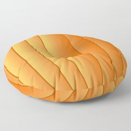 Bland Pumpkin Floor Pillow