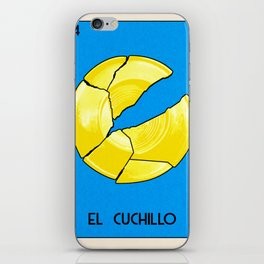 BB Loteria Card No.14 - The Knife iPhone Skin