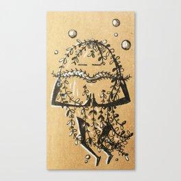 Namaste Seaweed Canvas Print