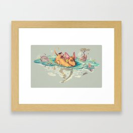 Xolotl Framed Art Print