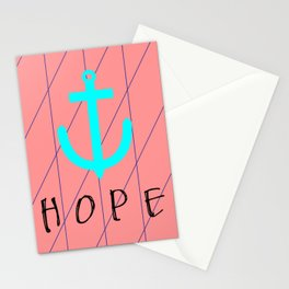 Christian Anchor of Hope Stationery Cards