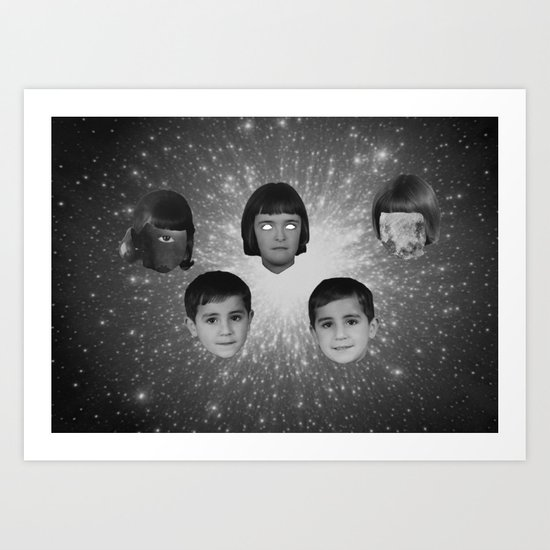 space face Art Print