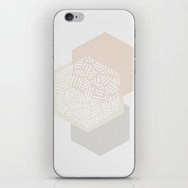 Minimalist Geometric I iPhone Skin