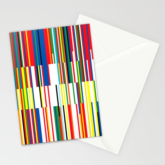 National Colors Stationery Cards