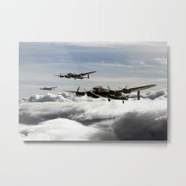 Lancaster Squadron Metal Print