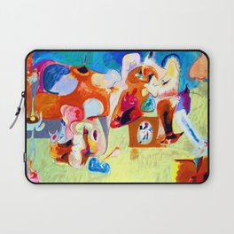 Arshile Gorky Plough and Song Laptop Sleeve
