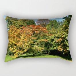 Autumn In The Arboretum Rectangular Pillow