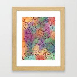 Tuesday #Contemporary Art Framed Art Print