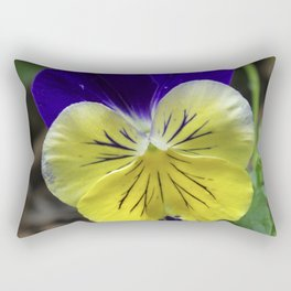 Vivid Viola Rectangular Pillow
