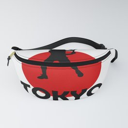 Tokyo and Tennis Fanny Pack