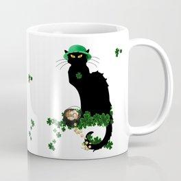 Le Chat Noir - St Patrick's Day Coffee Mug