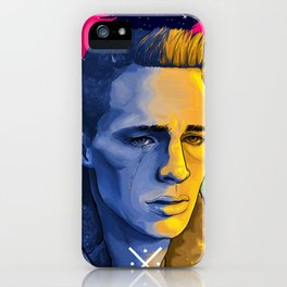 Celestial Beach. 1980 Colton Haynes iPhone Case