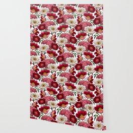 Flower garden IV Wallpaper