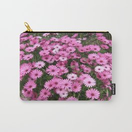 DAISIES IN PINK Carry-All Pouch