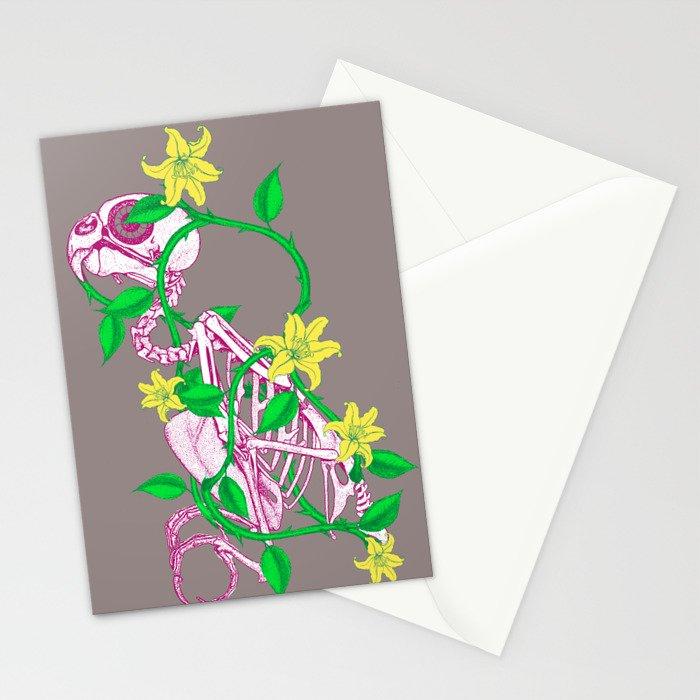 Deathvslife4 Stationery Cards