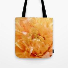 Abstract Yellow Blooming Joy Tote Bag