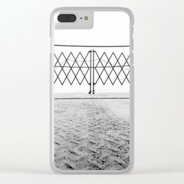Ferry Fence Clear iPhone Case
