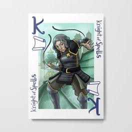 Knight of Spells Metal Print