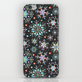 Snowflake Filigree iPhone Skin