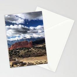 Pikes Peak - Colorado Springs Stationery Cards