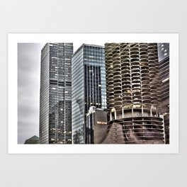 This is Steve. This Is Chicago. Hi! Art Print