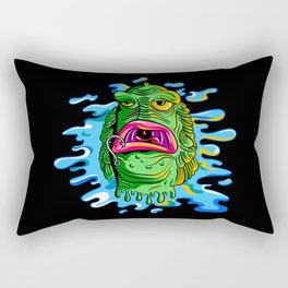 Thing from the Kiddy Pool Rectangular Pillow