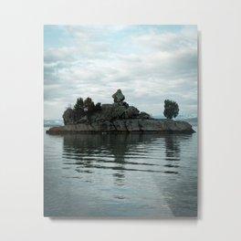 Calm Island Metal Print