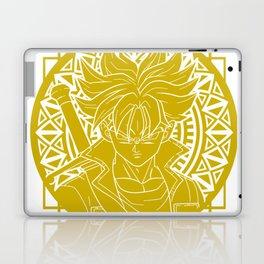 Stained Glass - Dragonball - Mirai Trunk Laptop & iPad Skin