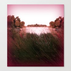 Manu Island Lake Canvas Print
