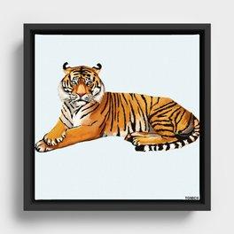 Tiger Framed Canvas