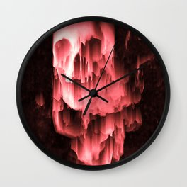 Death is Silence Wall Clock