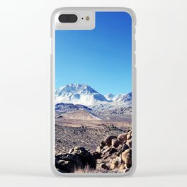wide horizons Clear iPhone Case