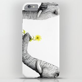"""""""Up Close You Are More Wrinkly Than I Remembered"""" iPhone Case"""