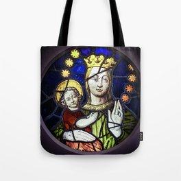 Madona and Child Tote Bag