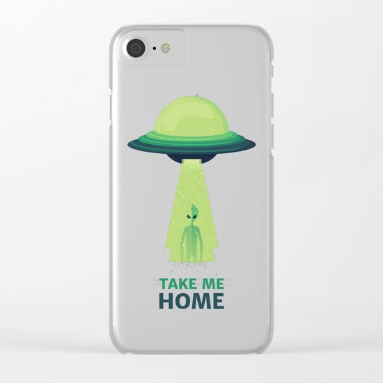 Take Me Home Clear iPhone Case