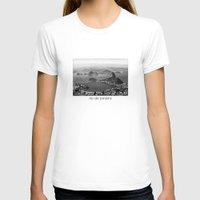 rio de janeiro T-shirts featuring Rio De Janeiro by ricardoaguiar