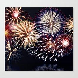 celebration fireworks Canvas Print