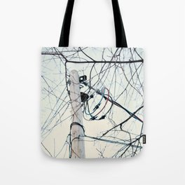 Power is Cold Tote Bag