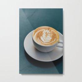 cappuccino Metal Print