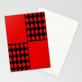 Chaotic Evil Harlequin Stationery Cards
