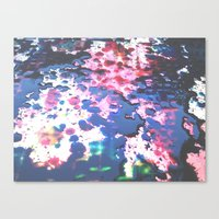 splatter Canvas Prints featuring Splatter by RDesigns
