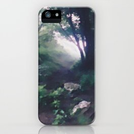 """ Forest Beckoning "" iPhone Case"