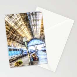 Keleti Railway Station Budapest Art Stationery Cards
