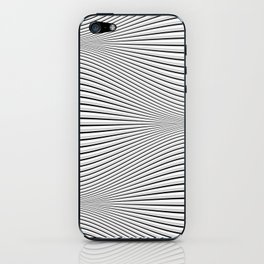 Wave (light moire) iPhone Skin