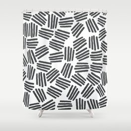 Z Z Flop Shower Curtain
