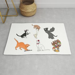 Doctor Who Cats Rug