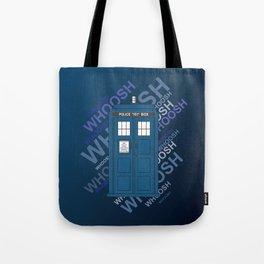Tardis Whoosh sound Doctor Who Tote Bag