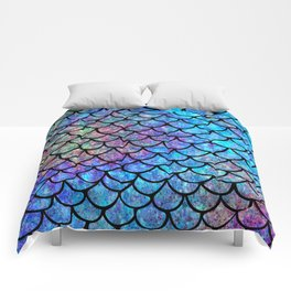 Colorful Mermaid Scales Comforters