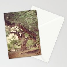 Mighty Cottonwood Trees Stationery Cards