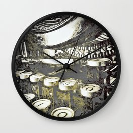 speed test {gray Wall Clock